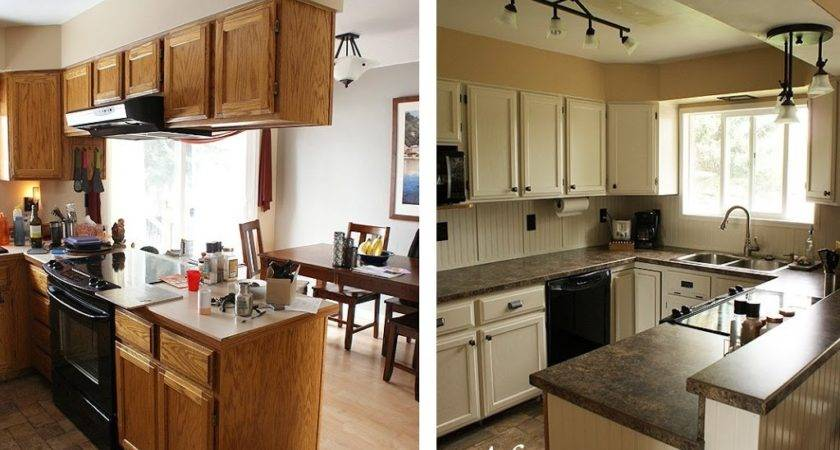 Stylish Small Kitchen Remodel Before After