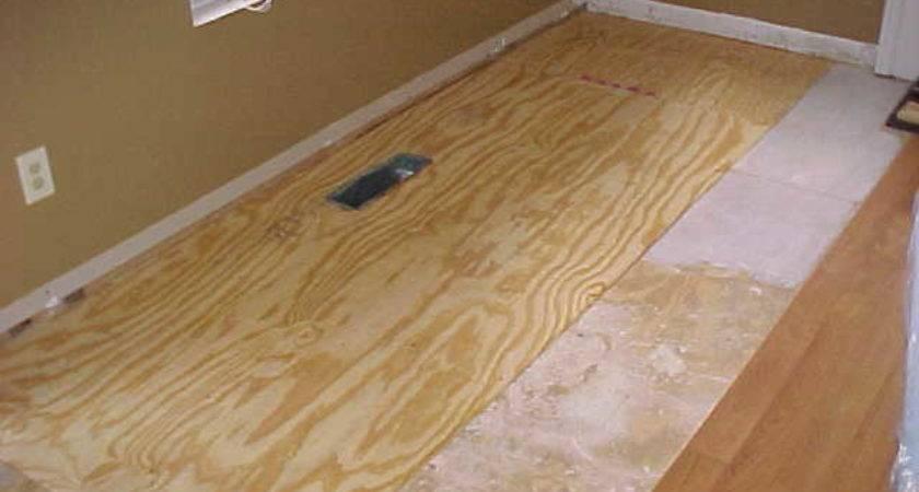 Subfloor Water Damage Repair Wrenn Home Improvements