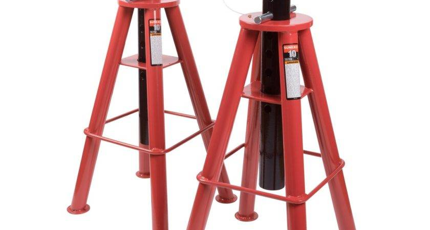 Sunex Ton Height Pin Jack Stands