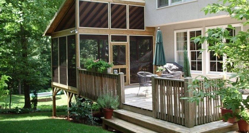 Sunroom Cost Per Square Foot Porch Convert Deck Into