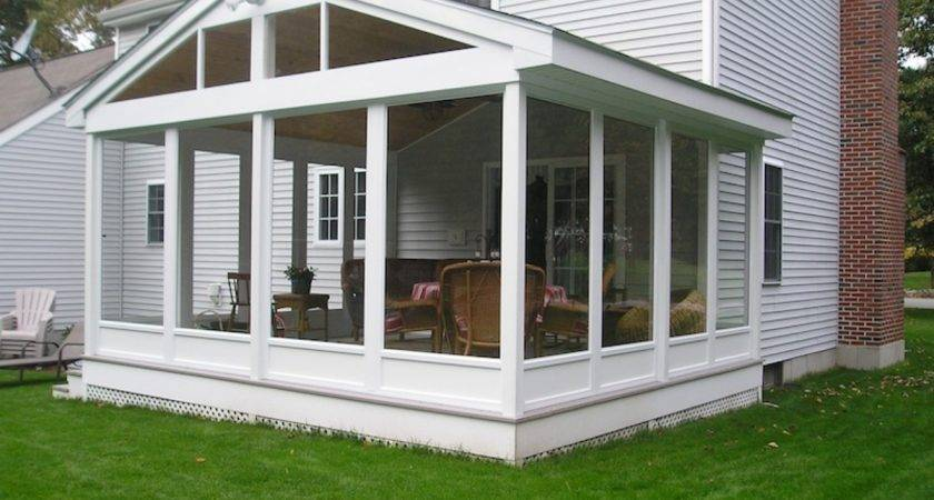 Sunrooms Additions Porch Enclosure Kit Lowe Screen