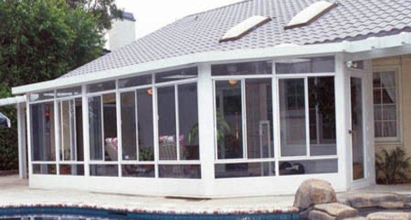 Sunrooms Plastic Florida Room Windows