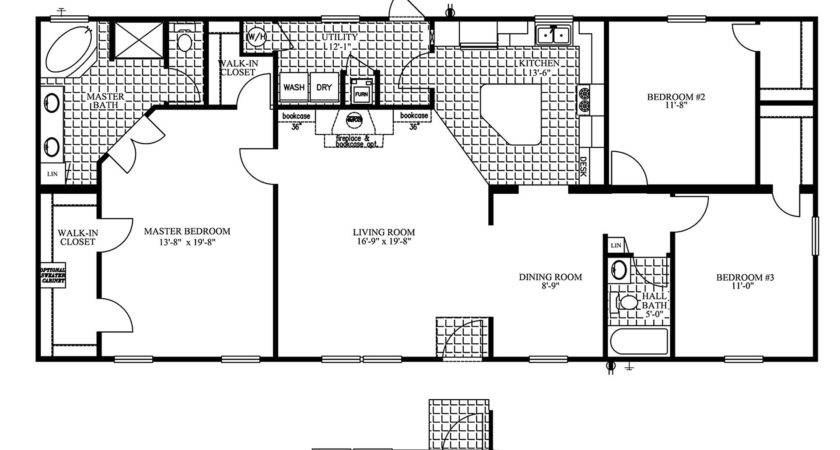 Sunshine Double Wide Mobile Home Floor Plans Deco