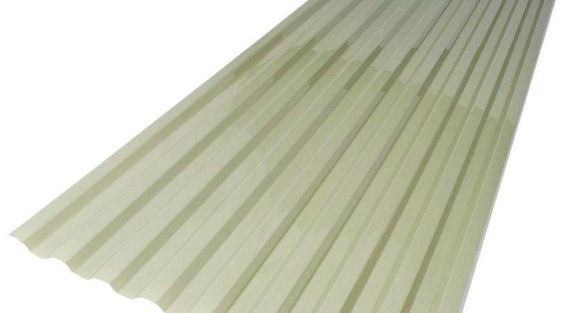 Suntuf Misty Green Polycarbonate Roof Panel