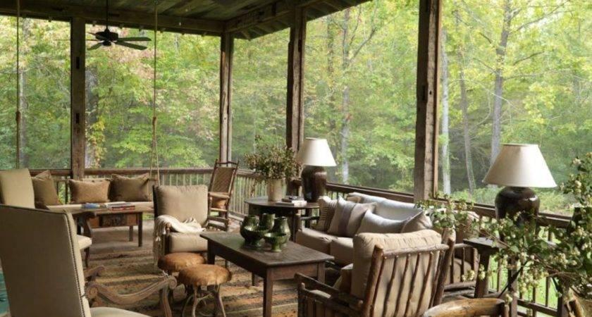 Super Simple Back Porch Ideas