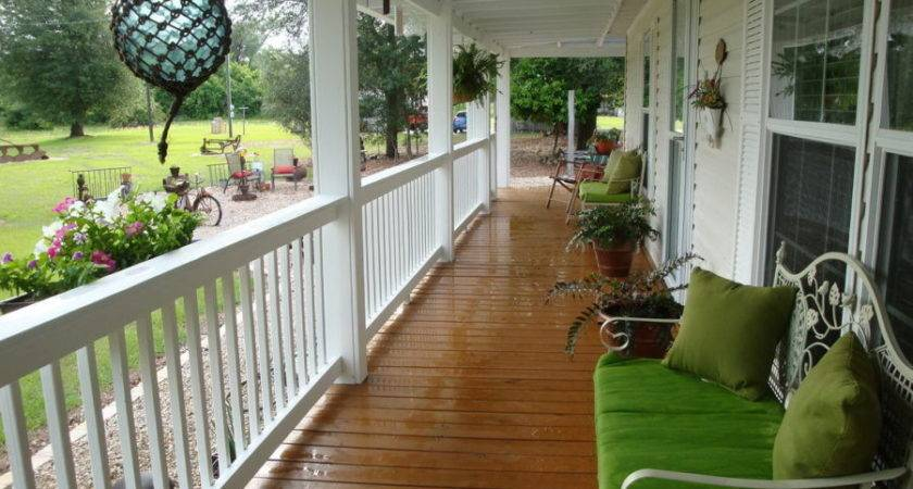 Super Simple Back Porch Ideas