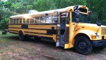 Sweatsville Rustic School Bus Conversion