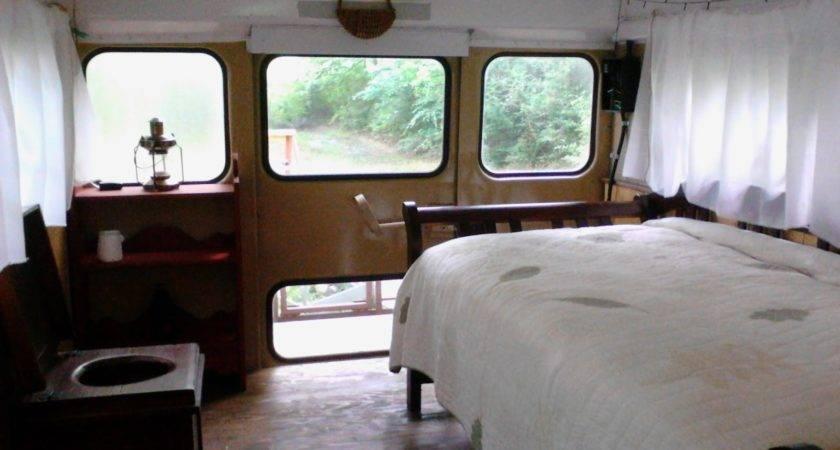Sweatsville Rustic School Bus Conversion