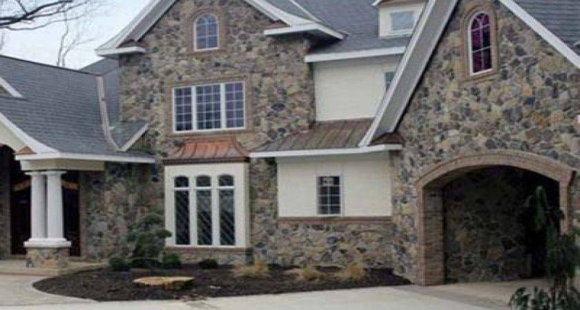 Synthetic Stone Siding Veneer Rock Houses