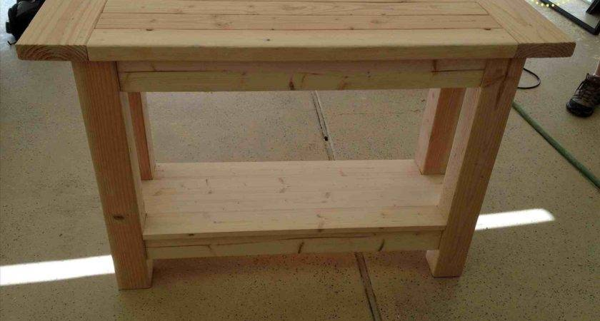 Table Projects Tables Unfinished Wood Diy Long