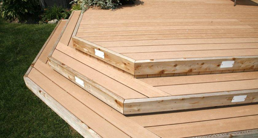 Taking Stairs Deck Hickory