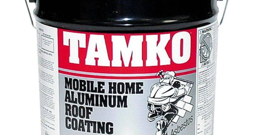 Tamko Fibered Aluminum Mobile Home Roof Coating Ebay