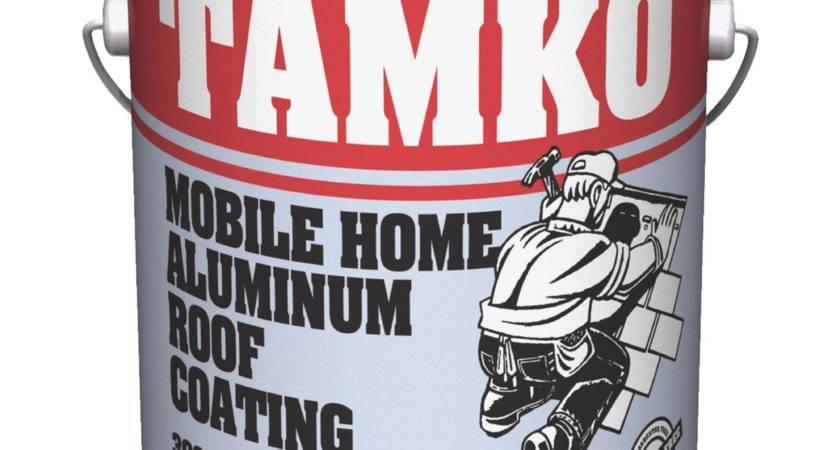 Tamko Fibered Aluminum Mobile Home Roof Coating