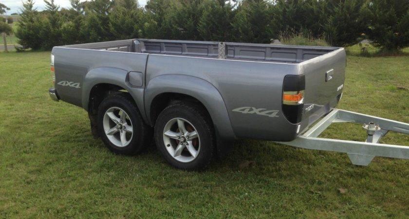 Tandem Trailer Ford Ranger Ute Tub Tray Back Camper