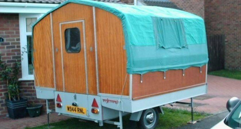 Teau Mobile Trailer Tent Camping Trips Pinterest