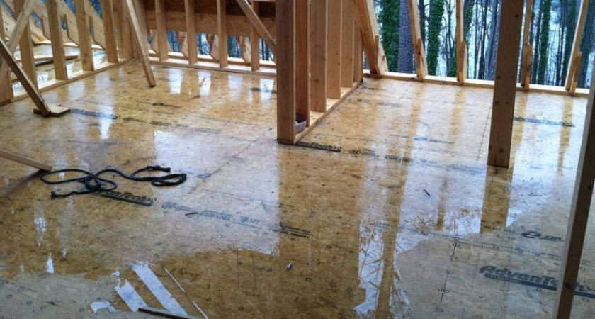 Tech Tip Solve Subfloor Puddle Problem