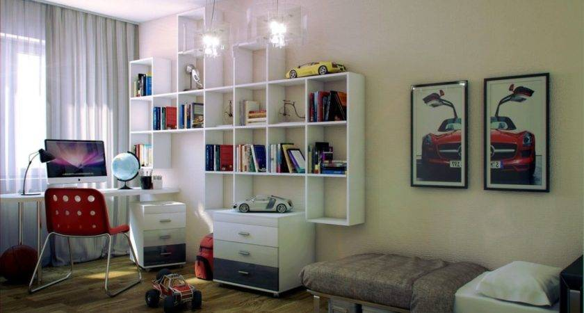 Teenage Boy Bedroom Design Ideas Small Limited Space