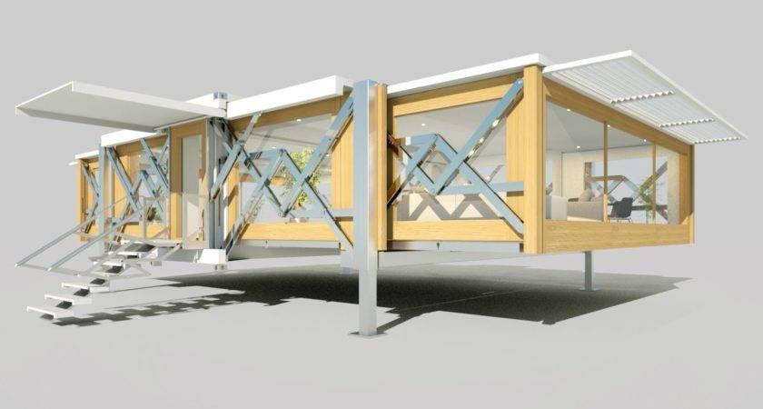 Ten Fold Mobile House Future Urbanizehub