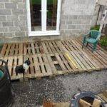 Tenacious Gardener Diy Pallet Wood Decking