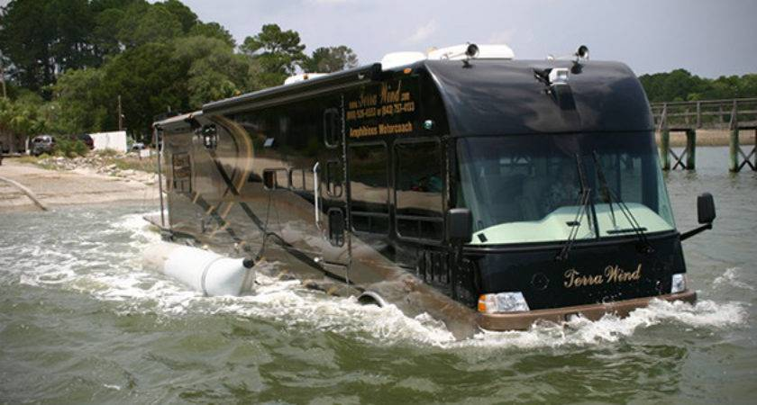 Terra Wind Amphibious Motorcoach Hiconsumption