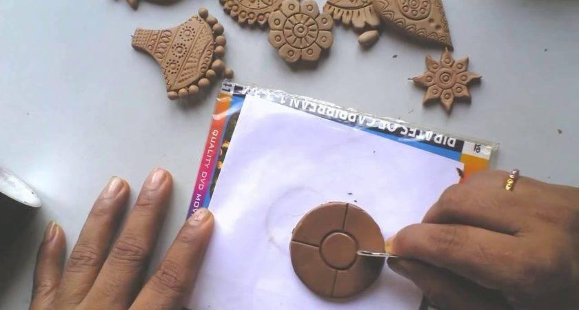 Terracotta Clay Jewellery Making Tutorial Make