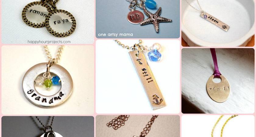 Terrific Diy Metal Stamped Pendants Can Make