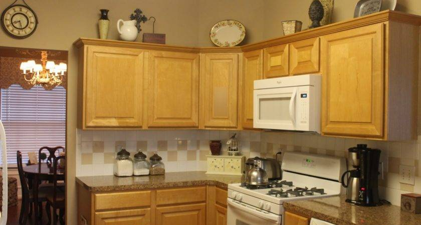 Texas Decor Rearranging Tops Kitchen Cabinets