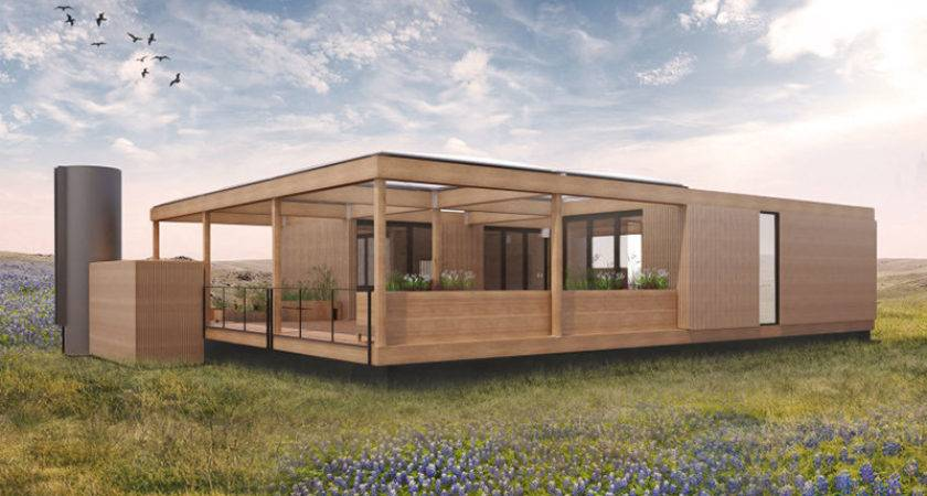 Texas Modular Home Run Rainwater Sunshine