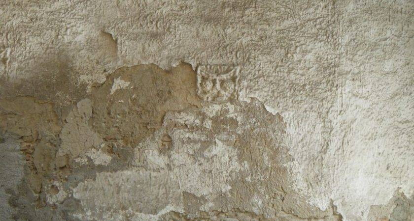 Texture Very Old Plaster Wall Lugher