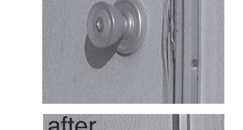 Theft Stopper Door Security Plate Mobile Home