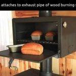 There Sleeve Stove Pipe Back Oven Box