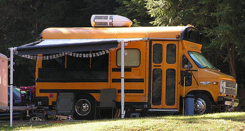 They Ride Short Bus Camper Conversion