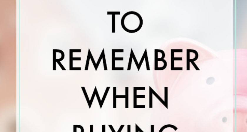 Things Remember Buying Home Finance Bar