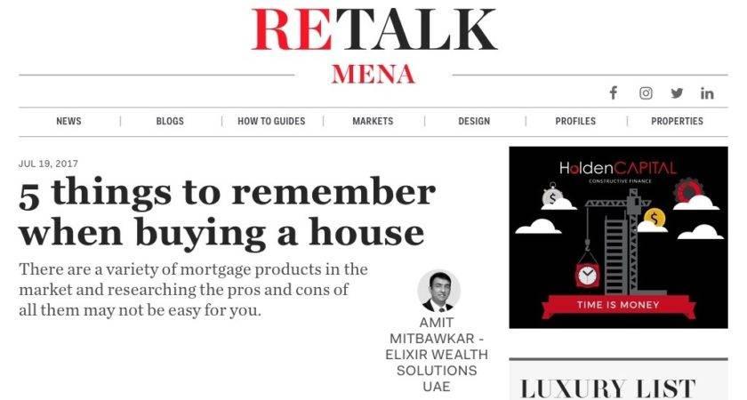 Things Remember Buying House Amit Mitbawkar