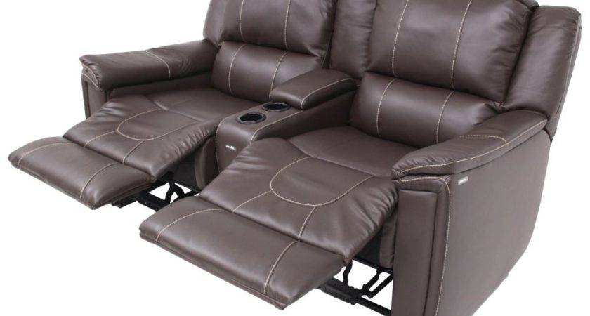 Thomas Payne Dual Reclining Sofa Center Console