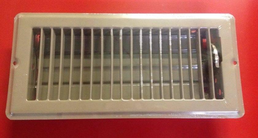 Three Brown Metal Floor Registers Vents Mobile