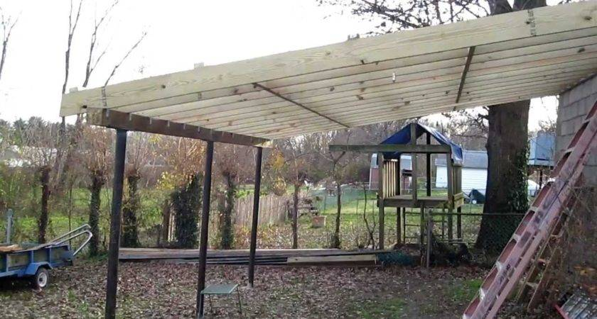 Tifany Blog Guide Build Lean Off Shed