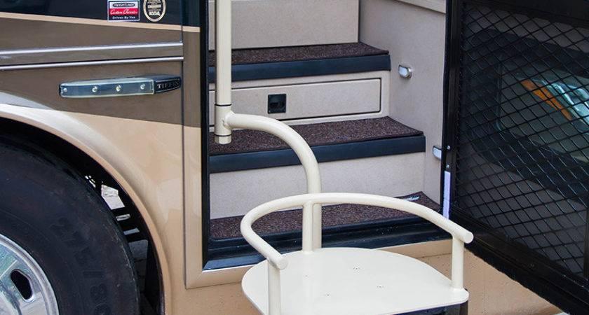 Tiffin Handicap Seat Lift Installation