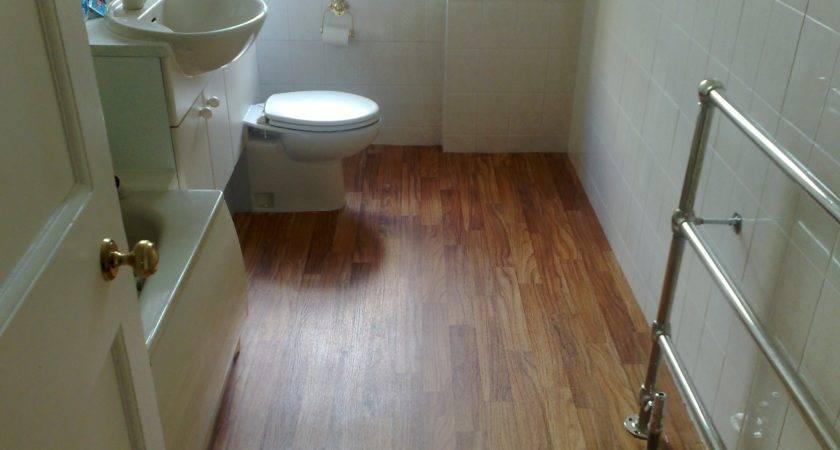 Tile Laminate Flooring Bathroom