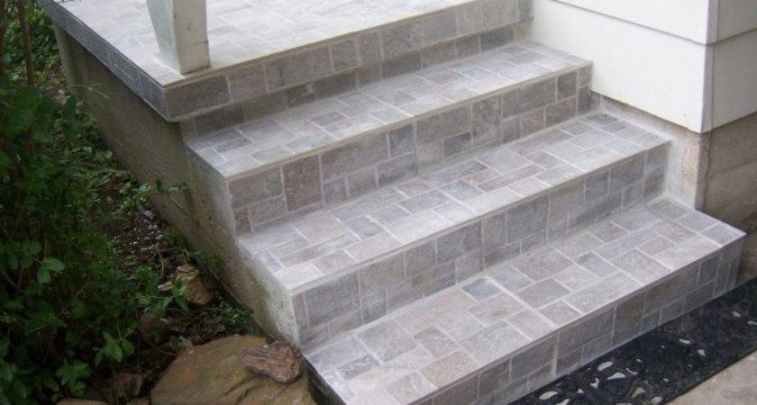 Tiles Stairs Outdoors Pin Marilou Huxman Design