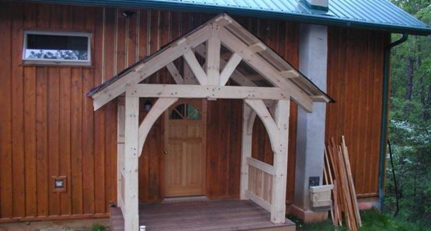 Timber Frame Porch Deck Entrance Projects Built Moresun