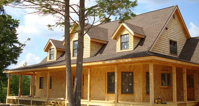Timber Stick Frame House Built Homes Kelsey Bass Ranch
