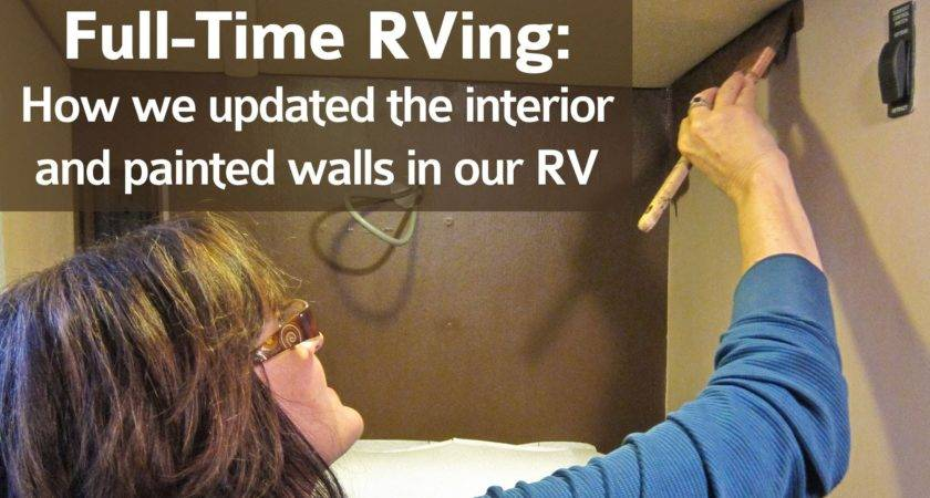 Time Rving Interior Painted