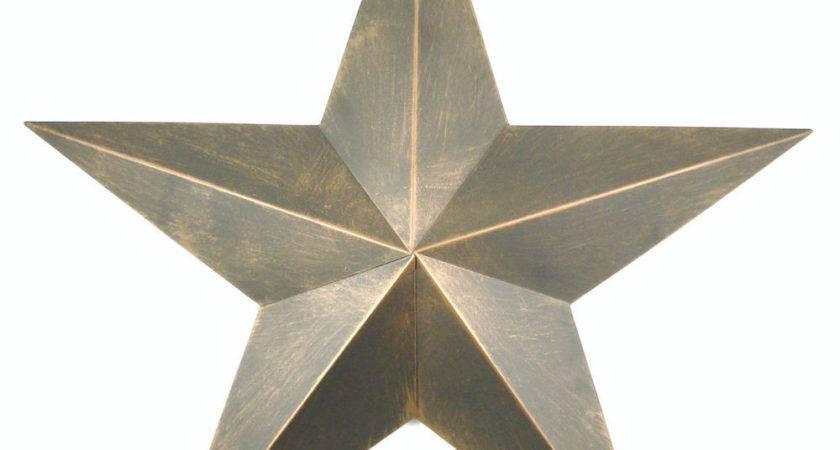 Tin Metal Barn Star Western Rustic Wall Decor Non Rust