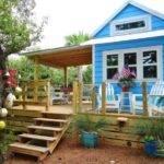 Tiny Beach House Cottage Living George Island