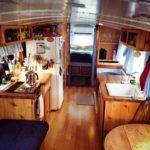 Tiny Home Bus Interior School Buses Houses House