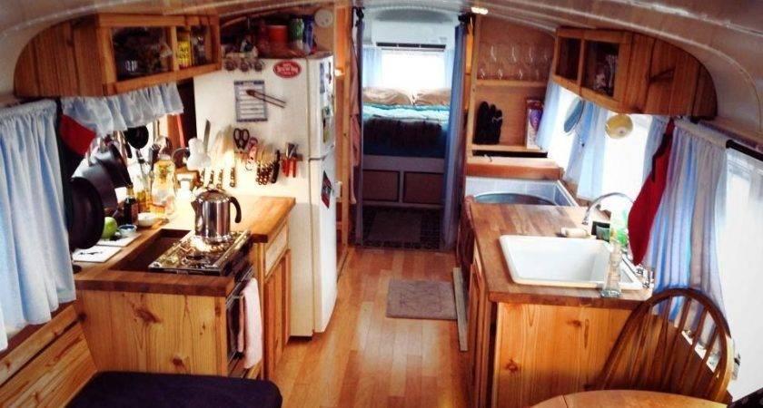 Tiny Home Bus Interior School Buses Houses House