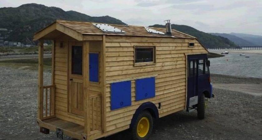 Tiny House Built Goddess Firetruck Wooden