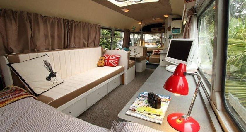 Tiny House Bus Cape Atlantic Decor Build School