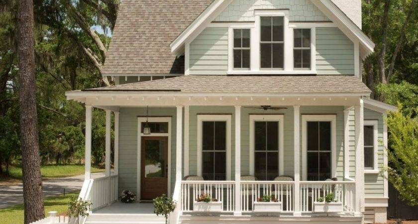Tiny House Plans Porches Small Cottage